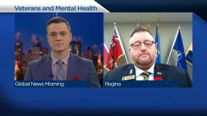 Ensuring Sask. veterans receive mental health assistance (03:53)