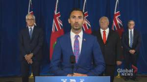 Coronavirus: Ontario education minister outlines COVID-19 Management Plan (00:59)