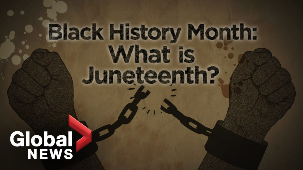 Click to play video: 'Black History Month: The meaning behind Juneteenth'