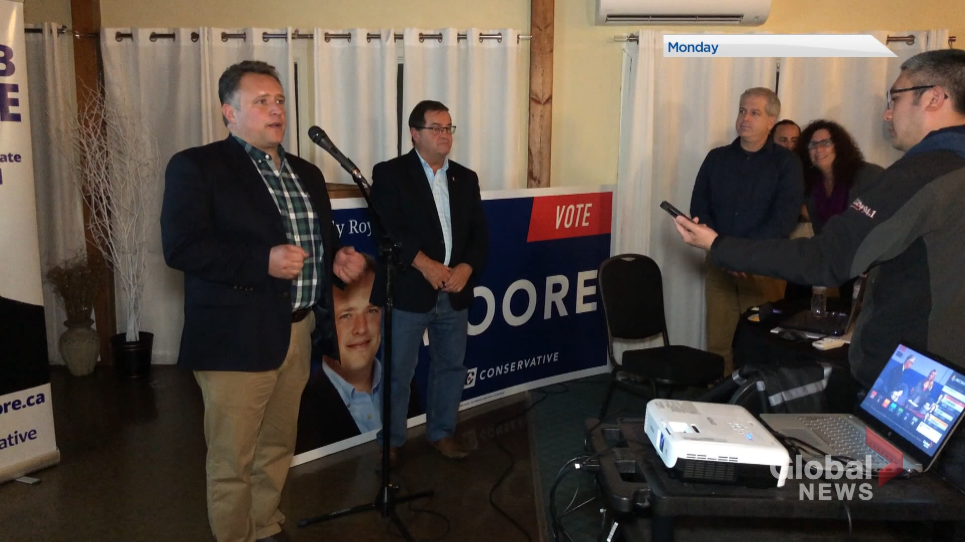 Conservatives took riding seats in traditional Tory territory in New Brunswick