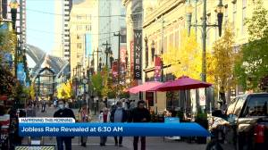 Alberta's unemployment rate drops to 10.7 in October 2020 (02:12)