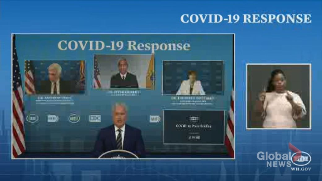 Click to play video: '70% of people over 30 have received 1 dose of COVID-19 vaccine in U.S., officials say'