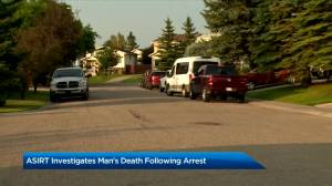 ASIRT investigates death of man after arrest by Calgary police (01:54)