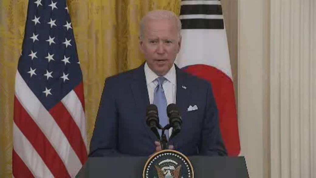 Click to play video: 'Biden names U.S. special envoy to North Korea'