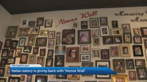 Italian eatery 'Ritorno' honours mothers with 'Nonna Wall' this Mother's Day (02:23)