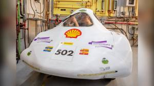 Saskatchewan Polytechnic Eco-Car wins award