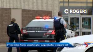 Fredericton police identify suspect after handgun drawn at Regent Mall (01:28)