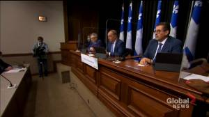 Quebec maps out plan for earlier second dose of vaccine against COVID-19 (02:00)