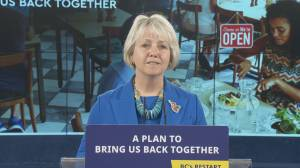 'So what does this mean?': Dr. Bonnie Henry on the key details on B.C.'s COVID-19 restart plan (03:45)