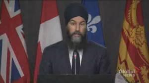 Coronavirus: Singh calls on Ottawa to address 'deplorable' conditions at Rivera long-term care homes (03:54)