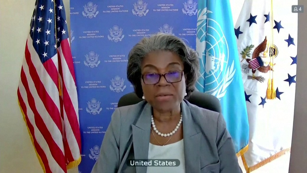 Click to play video: 'U.S. ready to help Israel, Palestinians seek a ceasefire'