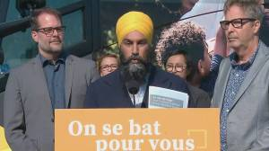 Federal Election 2019: NDP Leader Jagmeet Singh says Green tweet about platform is 'not my focus'