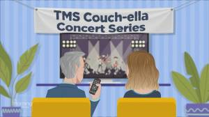 TMS Couch-ella: Canadian country star Tebey preforms 'Happened on a Saturday Night'