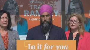 Federal Election 2019: Singh says immigration system has to balance bringing people in with security