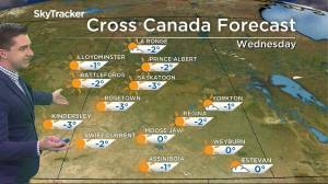 Warming trend: Dec. 1 Saskatchewan weather outlook (02:14)