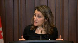 Freeland calls for all parties to rally behind CUSMA bill