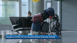 The Travel Lady: Air travellers must provide negative COVID-19 test before entering Canada (04:36)