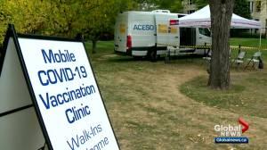 Calgary city council makes Alberta vaccine passport program mandatory at eligible businesses (03:22)
