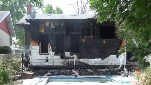 Fire damages Rideau Crescent home in Peterborough (00:47)