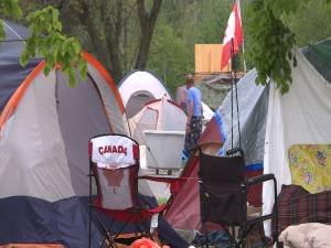 Belle Park homeless campers to be relocated city has no answer where.