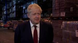 UK PM Boris Johnson denies groping allegation