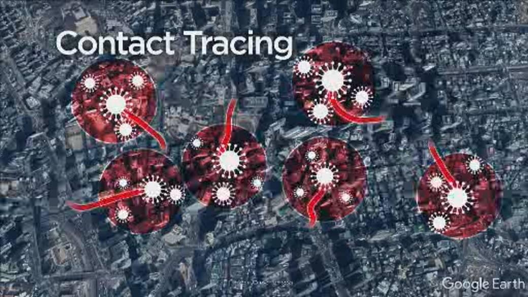 seguimiento coronavirus google maps