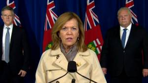 Coronavirus: Ontario health officials outline lockdown measures for Toronto, Peel Region (03:12)