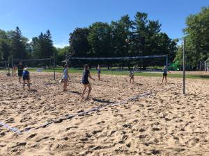 Back to the Beach: Volleyball camps return with COVID-19 measures in place