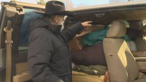 """""""I'm bewildered and just amazed at the response,"""" senior living in pickup truck humbled by huge outpouring of support (02:04)"""
