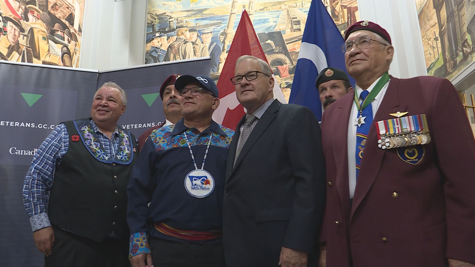 Ottawa issues multi-million dollar apology to WWII Metis veterans