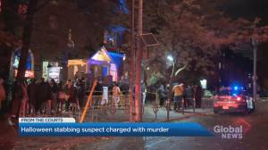 Halloween stabbing suspect now charged with second-degree murder