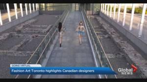 Fashion Art Toronto kicks off Virtual Fashion Week (03:09)