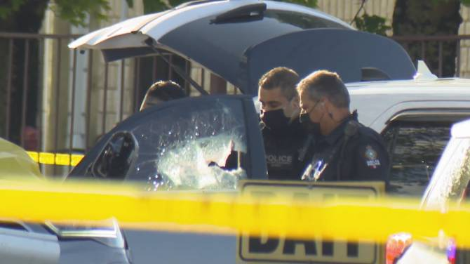 Click to play video: Targeted shooting along Delta/Surrey border leaves 1 dead