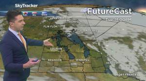 Sunny skies, cool temperatures: May 4 Manitoba weather outlook (01:30)