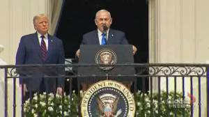 Netanyahu thanks Trump for 'standing up to the tyrants of Tehran' in signing ceremony for UAE and Bahrain deal
