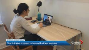 McMaster University students offer virtual tutoring in exchange for charity donations (02:39)