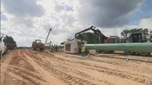 Keystone XL pipeline remains blocked in U.S.