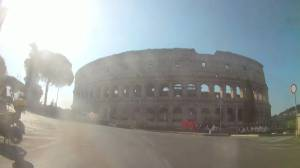 Coronavirus outbreak: Take a Vespa ride around an empty Rome in week four of lockdown