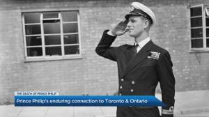 Looking back at Prince Philip's enduring connection to Toronto, Ontario, and Canada (02:11)