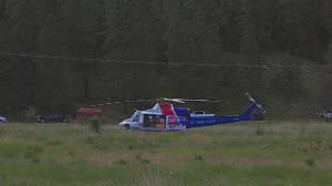 Motorcyclist has life threatening injuries after crash near Vernon (00:56)