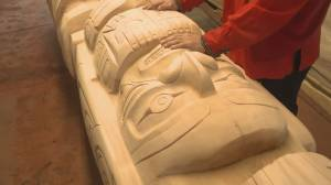 B.C. master carver creates tribute to Japanese pioneer (01:49)