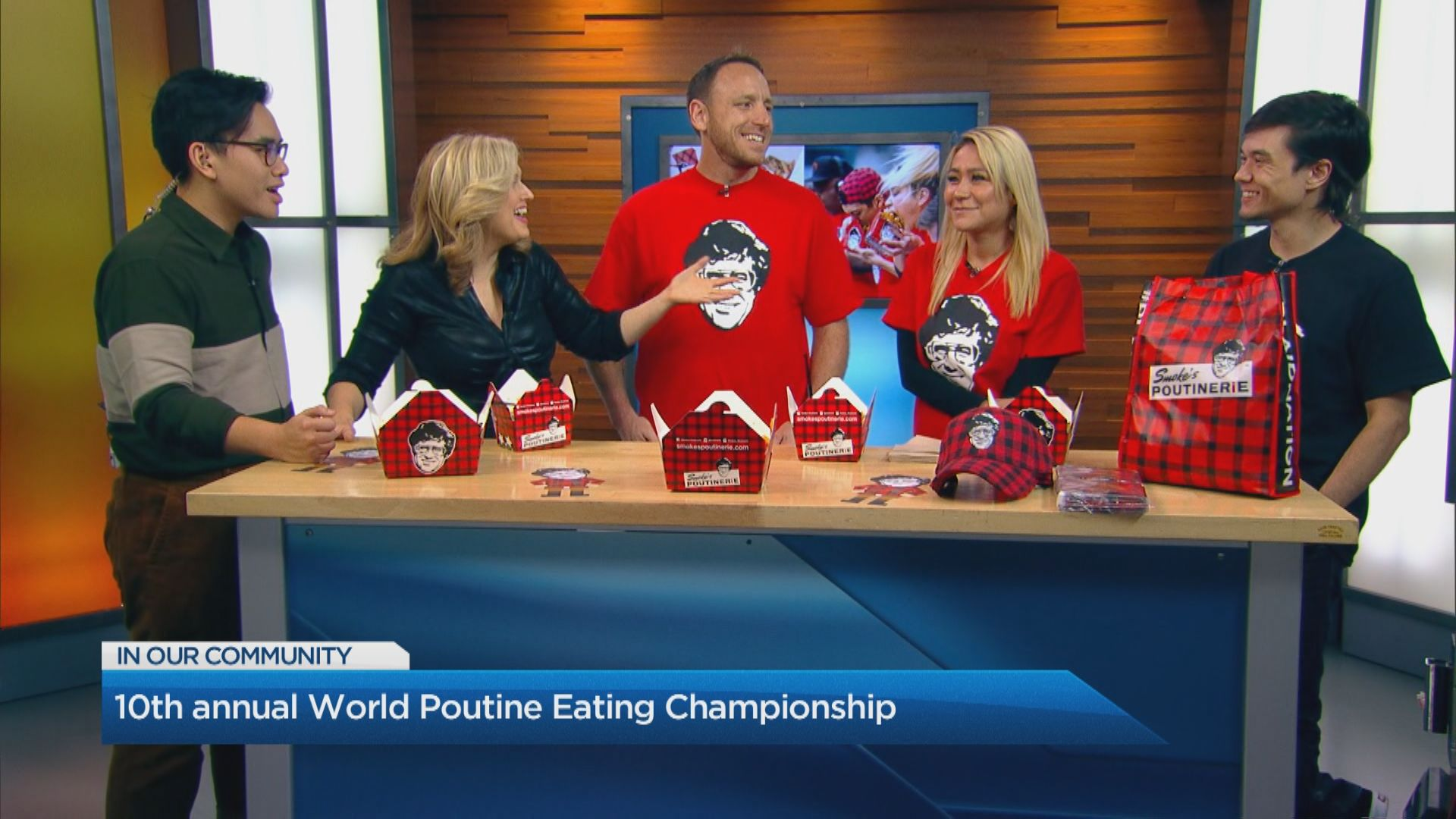 10th annual World Poutine Eating Championship