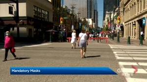 Calgary's mandatory mask bylaw takes effect on Aug. 1