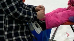 Saskatchewan's largest outdoor rink welcomes public (00:16)