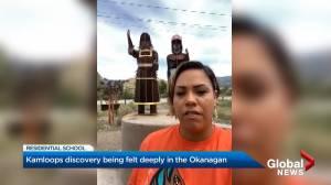 Kamloops discovery being felt deeply in the Okanagan (02:10)