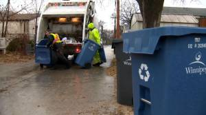Winnipeg household waste levels remain higher than usual during COVID-19 (01:45)