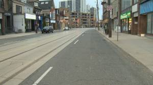 Toronto closes some curb lanes to help pedestrians keep physical distancing