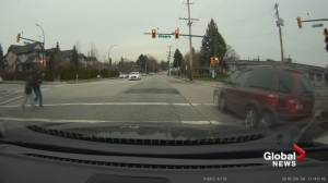 Burnaby dangerous driving incident caught on camera (00:50)