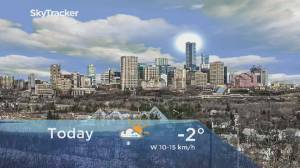 Edmonton early morning weather forecast: Tuesday, January 21, 2020