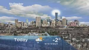 Edmonton early morning weather forecast: Tuesday, January 21, 2020